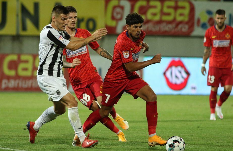 FCSB – Shirak 3-0. Trei pe meci! Roş-albaştrii au trecut fără probleme în turul doi din Europa League