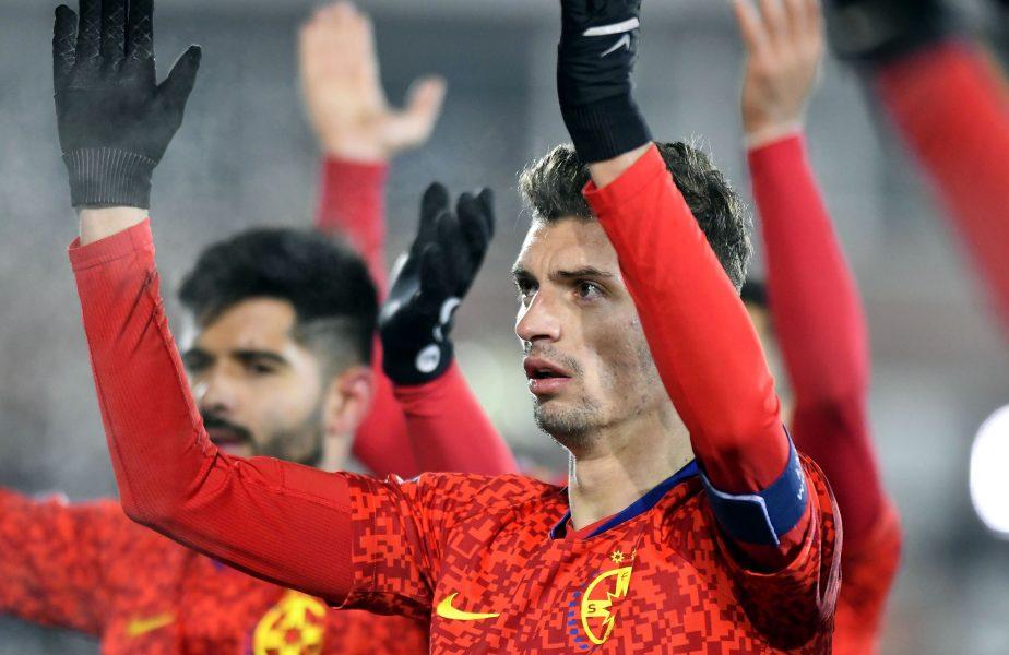 Începe lupta pentru Florin Tănase! După Anderlecht, o nouă echipă forţează transferul căpitanului FCSB. Gigi Becali ţine la preţ