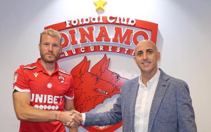 OFICIAL! Adam Nemec este jucătorul lui Dinamo! Detaliile contractului și anunțul făcut de club