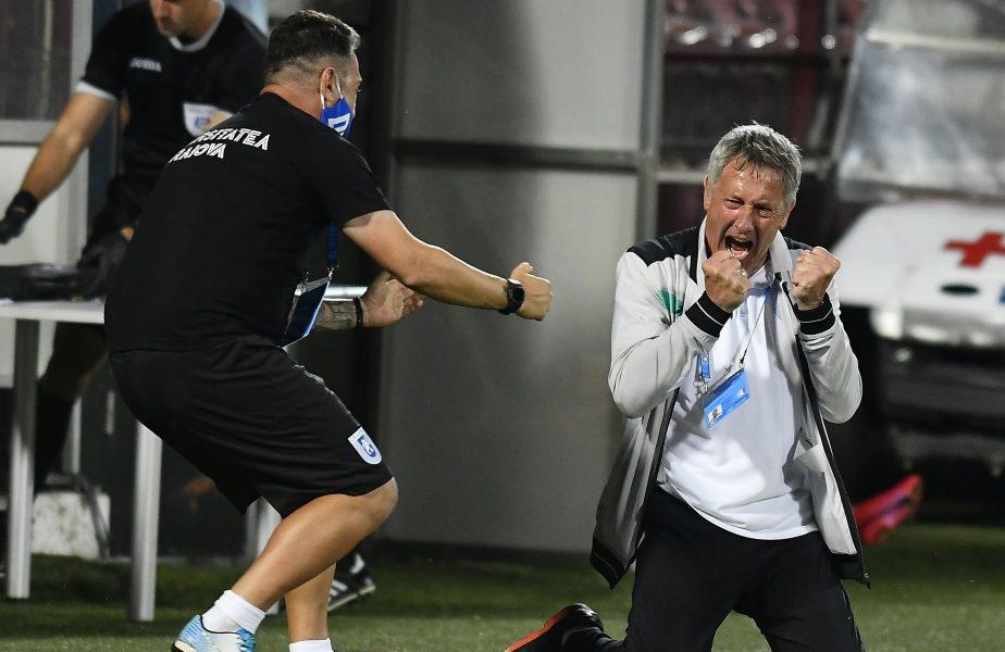 """""""Atât am meritat!"""" Ce spune Bergodi despre victoria cu Astra şi eliminarea Craiovei din Europa League"""