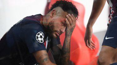 Neymar a fost ajutat de forţele de ordine