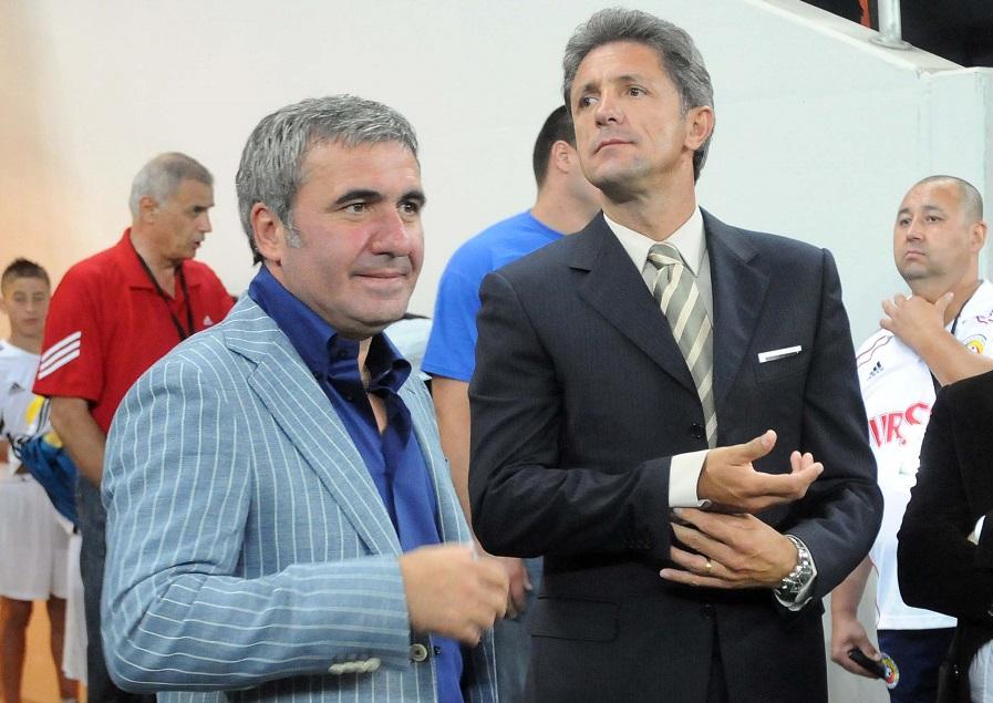 Gică Popescu și Gică Hagi, invitați de lux la Galatasaray