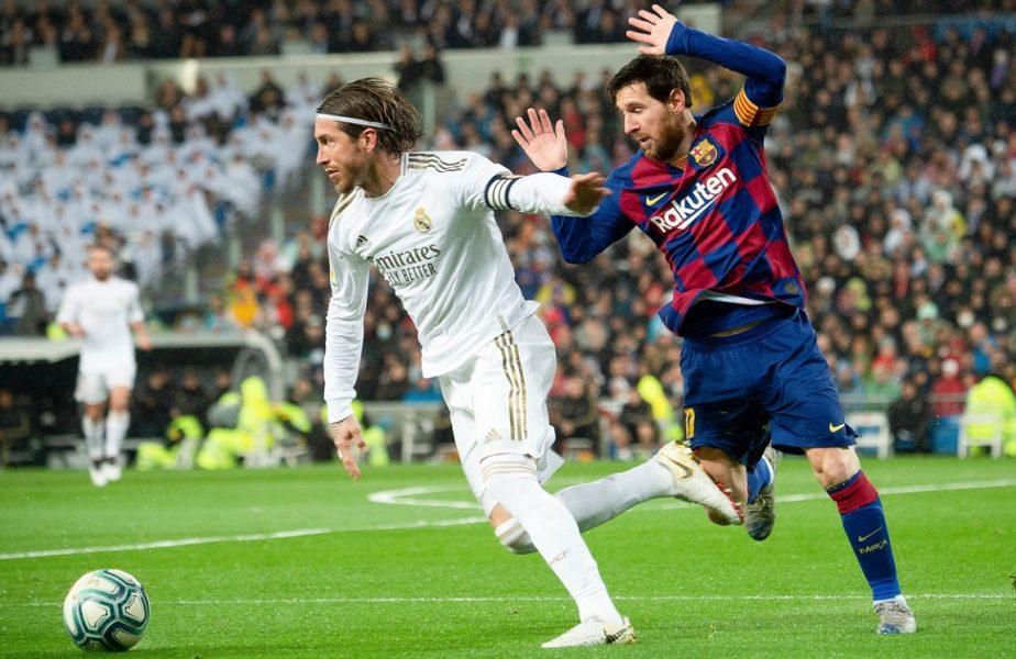Căpitanul lui Real Madrid a vorbit despre posibila plecare a lui Messi. Declaraţii surprinzătoare ale lui Sergio Ramos