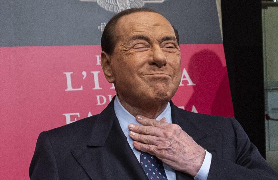 Silvio Berlusconi şi doi dintre copiii lui au Covid-19. Anunţul făcut de fostul premier, la 83 de ani