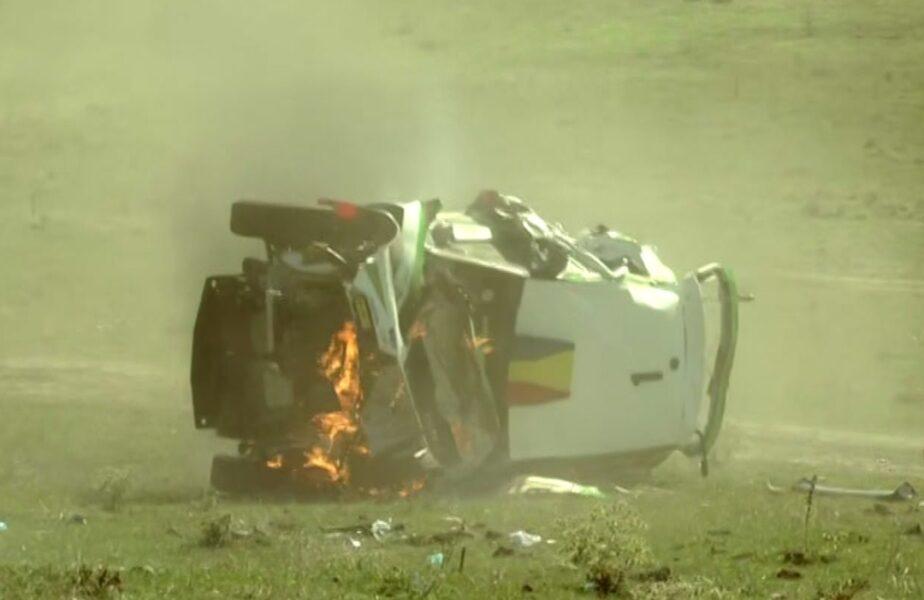 Primele cuvinte ale lui Tempestini dupăce a scăpat întreg din accidentul care a uimit azi România. Detalii la ştirile AntenaSport, de la 19.50