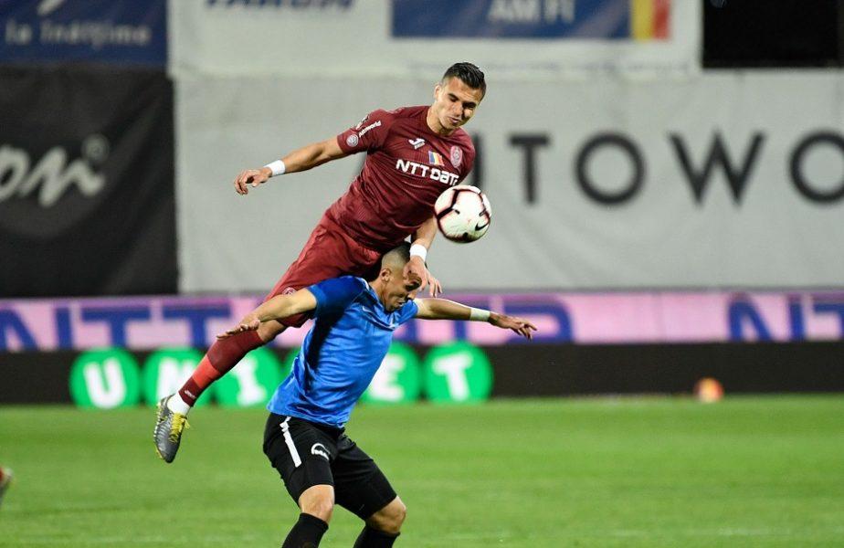 OFICIAL! CFR Cluj a anunţat transferul lui Cristi Manea. Pe câţi ani a semnat fundaşul de 23 de ani