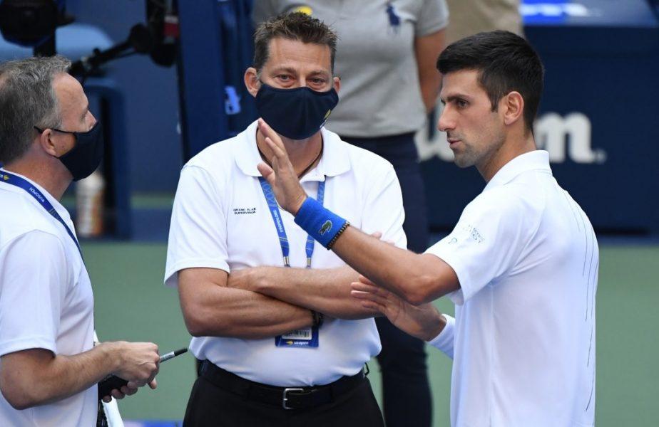 Ce le-a spus Novak Djokovic oficialilor, la fileu, înainte ca aceştia să îl descalifice de la US Open. Reacţia lui Darren Cahill