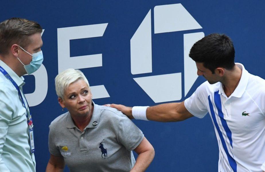 Descalificarea lui Novak Djokovic este corectă! Explicaţiile specialistului