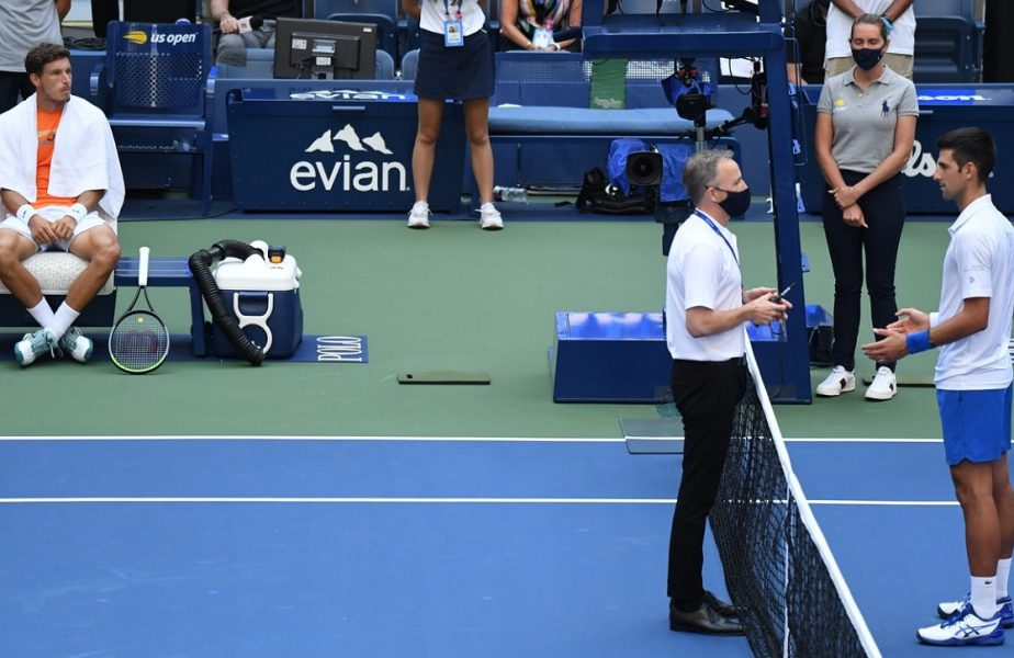 """Novak Djokovic, prima reacţie după ce a fost descalificat de la US Open. """"A fost atât de neintenţionat şi atât de greşit"""""""