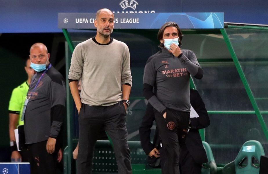 """Manchester City, """"lovită"""" de coronavirus. Două staruri ale lui Pep Guardiola au fost testate pozitiv!"""
