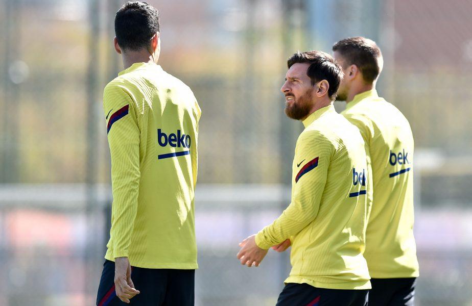 VIDEO   Lionel Messi a revenit la antrenamentele Barcelonei! Primele imagini cu starul argentinian