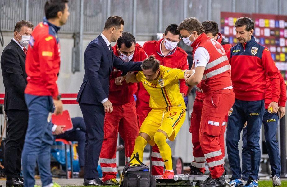 """Dan Petrescu poate răsufla uşurat. Accidentarea lui Ciprian Deac nu este gravă. """"A mers singur la avion"""""""