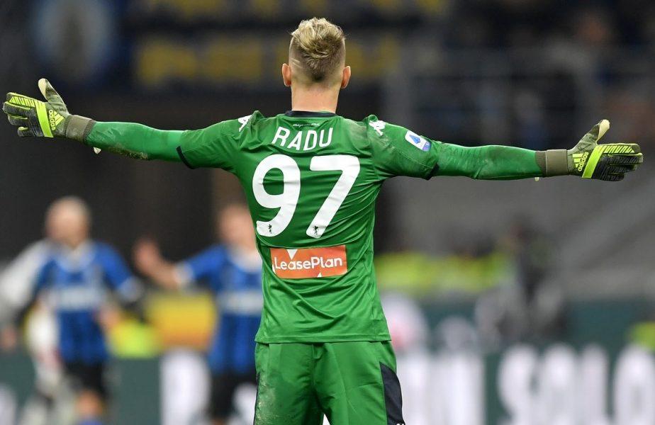 Ionuţ Radu s-a întors la Inter. Mesajul românului înaintea duelului din Serie A cu Ciprian Tătăruşanu