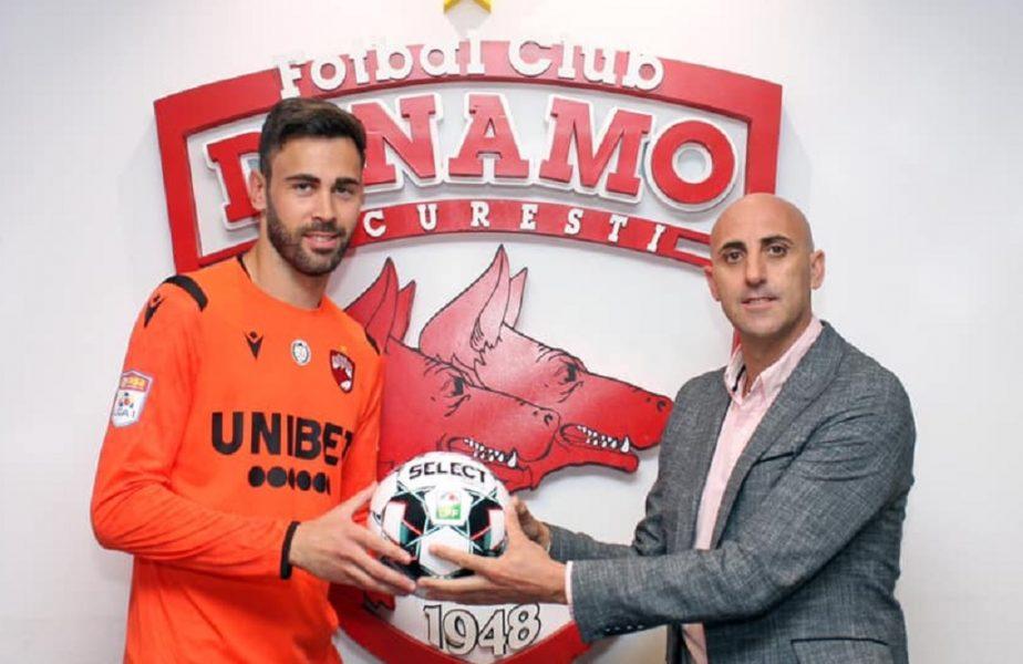 OFICIAL   Dinamo a rezolvat încă un transfer. A efectuat vizita medicală și se antrenează deja la Săftica