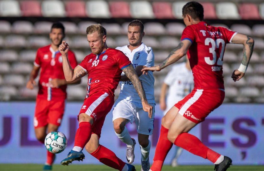 FC Argeș – UTA 1-1. Arădenii deschid scorul după o execuţie perfectă a lui Bustea. Mălăele a egalat
