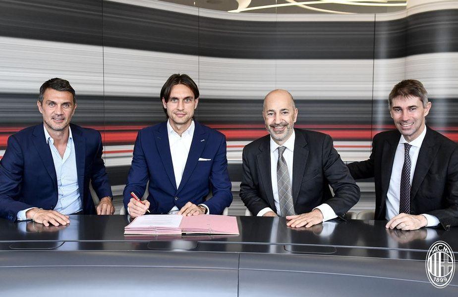 OFICIAL! Tătărușanu a fost prezentat la Milan de legenda Paolo Maldini