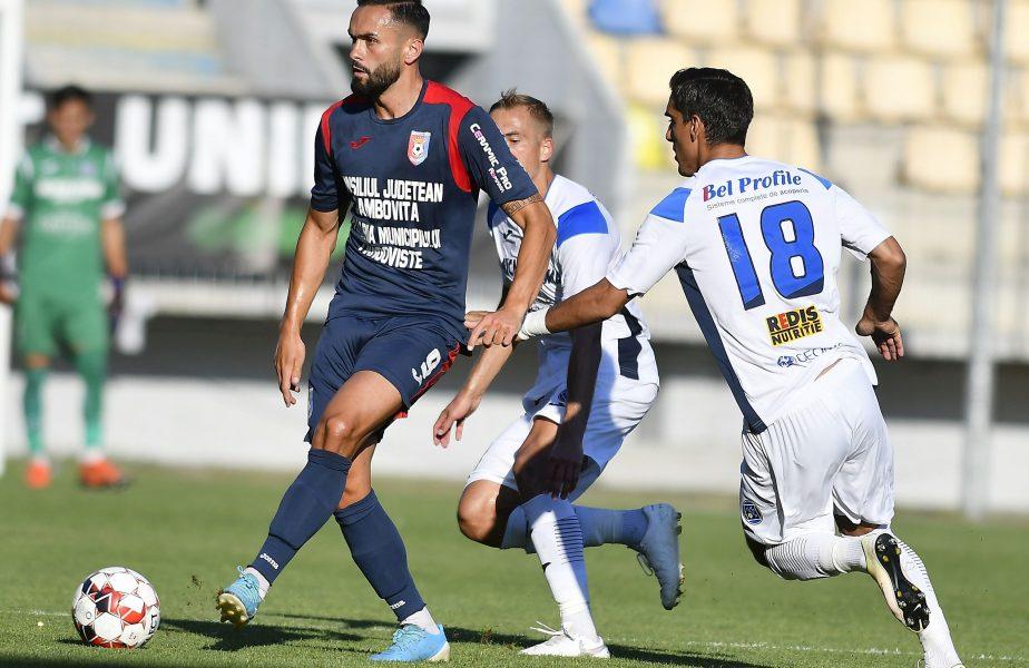 Academica Clinceni – Chindia 0-0. Căpitanul oaspeților, Daniel Florea, a ratat un penalty!