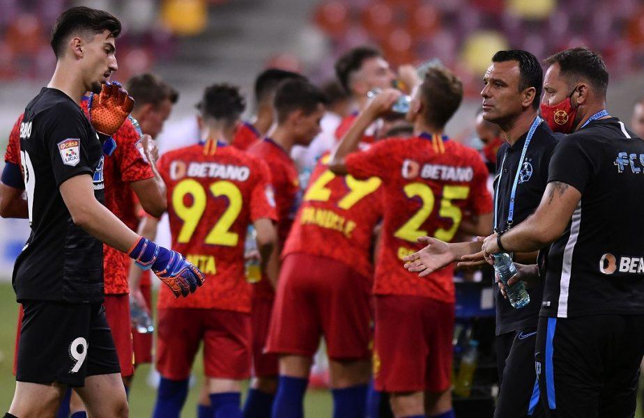 """Podul de """"Piatră"""" s-a dărâmat, a venit Mailat și l-a luat! Primul gol primit de FCSB, în acest sezon, în mandatul lui Toni Petrea"""