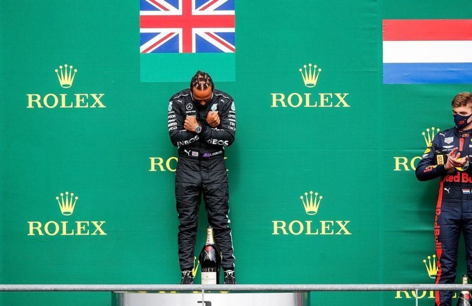Cod roșu în Toscana! Hamilton a câștigat cursa groazei. Ceilalți piloți și-au rupt mașinile