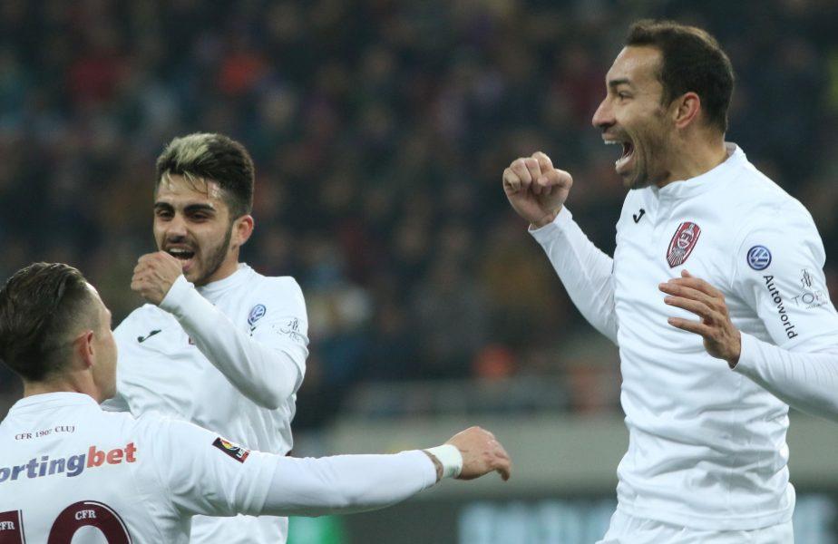 """""""Întotdeauna fac așa la cornere și la 'freekicki' """"! Vinicius, savuros după ce golul său o salvează pe CFR cu Hermannstadt"""