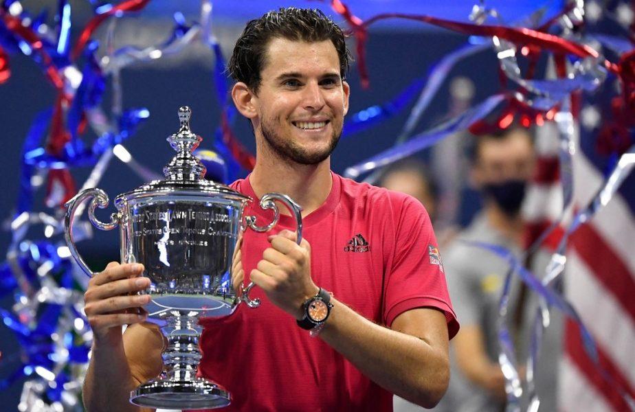 Dominic Thiem este noul campion de la US Open. Finală nebună, decisă în tie-break-ul setului decisiv! Austriacul a scris istorie