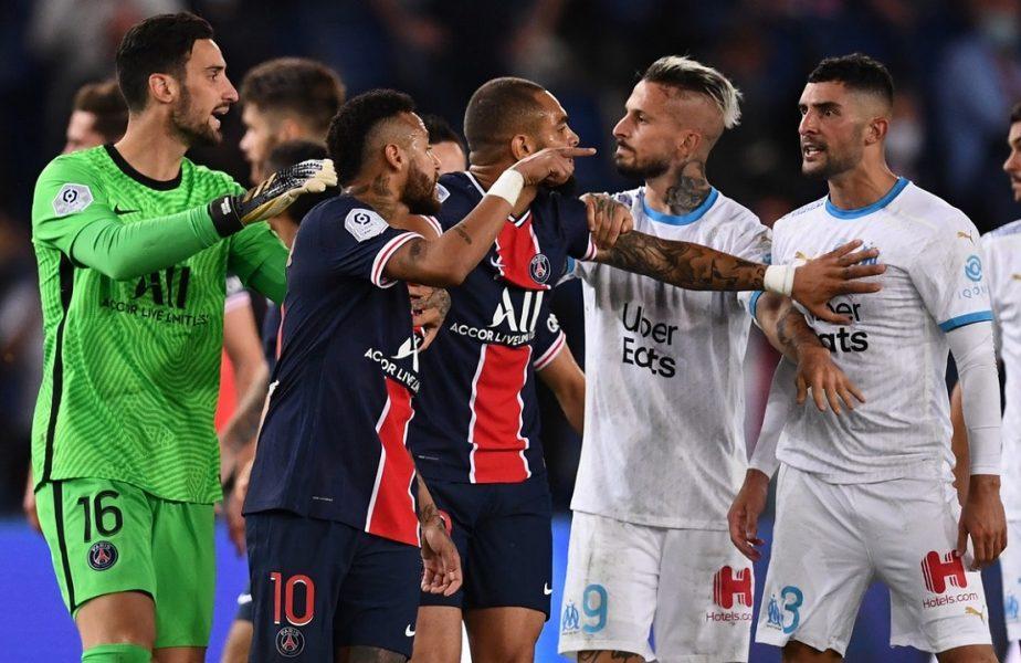 PSG, răpusă în derby-ul Franţei. Starurile lui Tuchel au pierdut în faţa rivalei Olympique Marseille. Serie neagră a parizienilor
