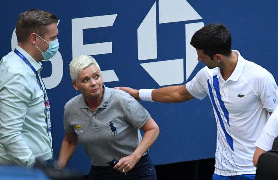 """Novak Djokovic, declaraţii halucinante după descalificarea de la US Open. """"Nu promit că nu voi mai face un gest similar"""""""