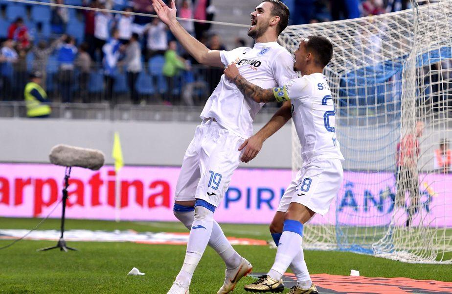 """Viitorul – Craiova 1-4. Au rupt """"barrera""""! Bombardierul Koljic a reuşit """"dubla"""". Oltenii, lideri în Liga 1. Echipa lui Hagi, pe ultimul loc"""