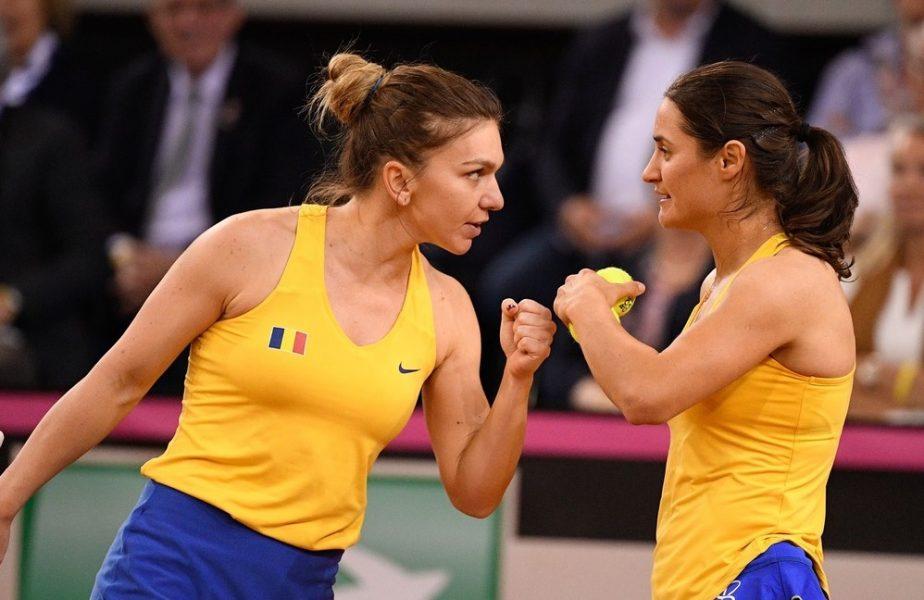 Româncele au făcut mare show la Roma! Simona Halep şi Monica Niculescu au cedat un singur game