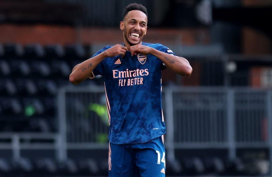 Vești mari de la Londra! Căpitanul Pierre Aubameyang rămâne încă trei ani la Arsenal. Ce salariu va primi cel mai rapid marcator din istoria clubului
