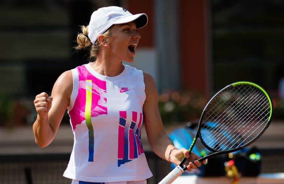 Simona Halep – Jasmine Paolini 6-3, 6-4. Halep, în viteză spre un nou trofeu