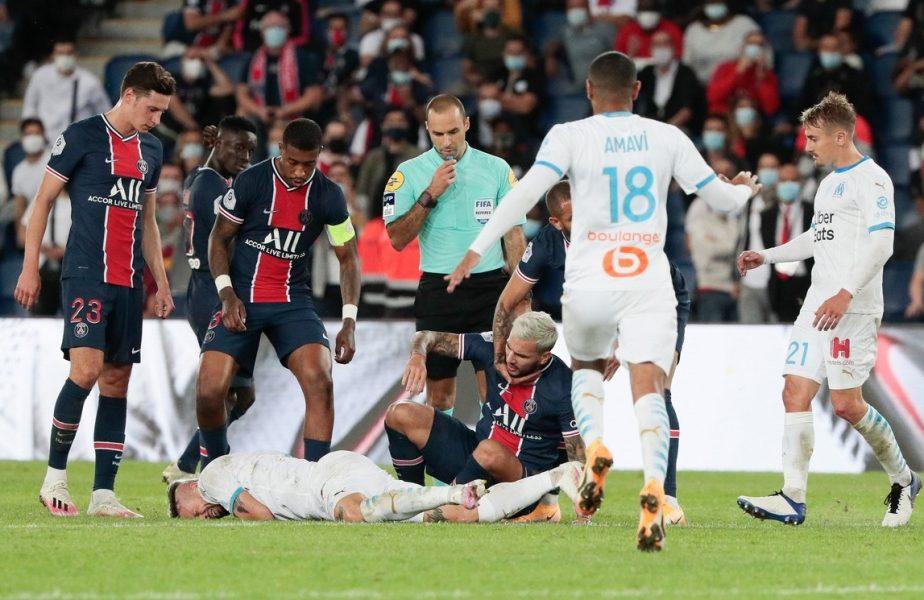 Paris Saint-Germain, din nou fără Neymar și Di Maria! Campioana Franței, demolată după scandalul cu Marseille