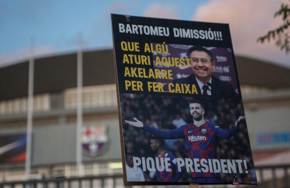 Cutremur în Barcelona! Fanii au strâns aproape toate semnăturile necesare pentru a-l da jos pe Bartomeu! Ce se întâmplă în această după amiază