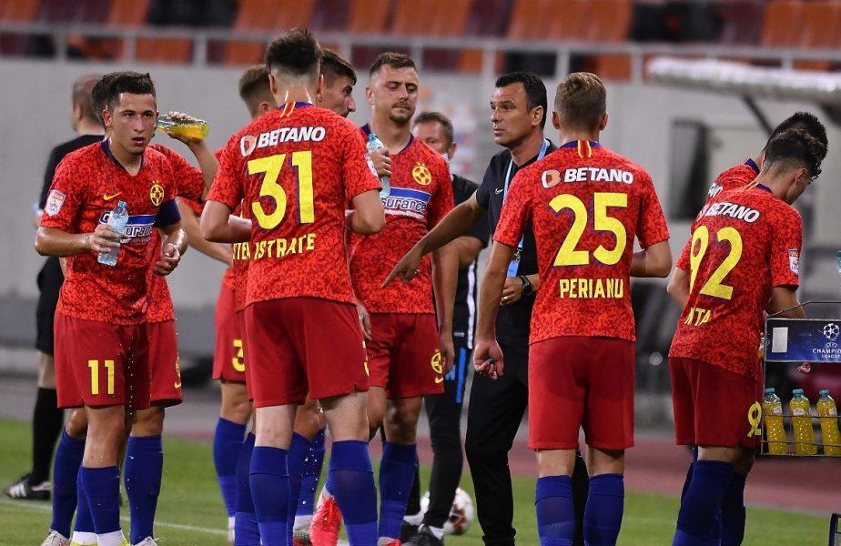 Staff-ul FCSB surprinde! Cine va juca fundaș central cu Backa Topola