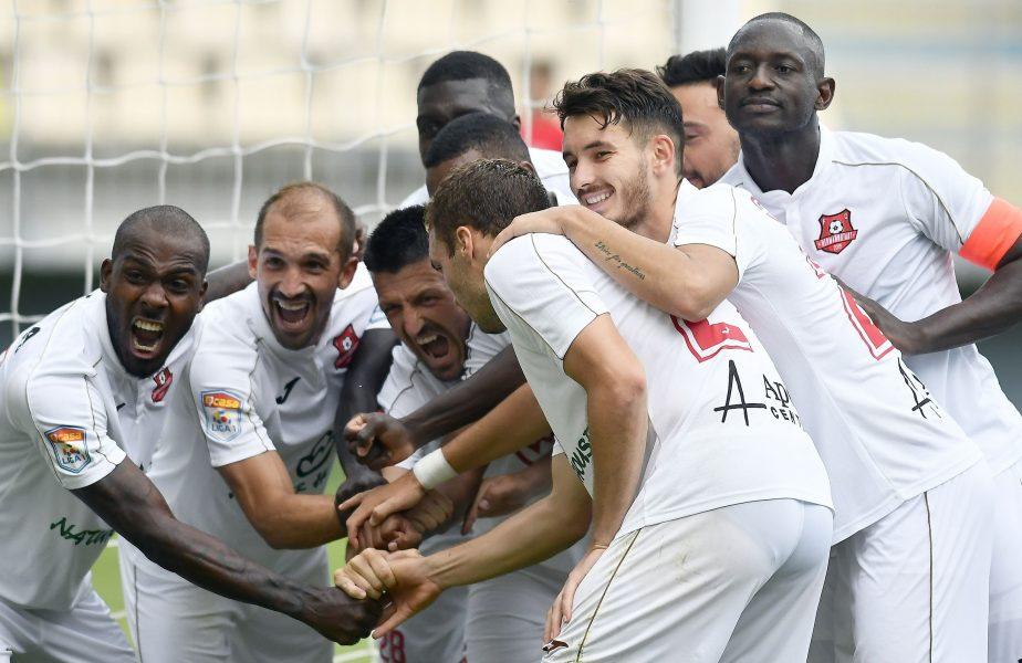 Chindia Târgoviște – FC Hermannstadt, 1-3. Prima victorie pentru Ruben Alves în Liga 1! Sibienii câștigă fără emoții la Ploiești