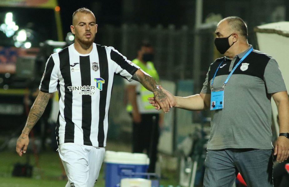 """Denis Alibec a primit un ultimatum de la Bogdan Andone. """"Să îşi rezolve situaţia!"""". Motivul revoltei antrenorului Astrei"""