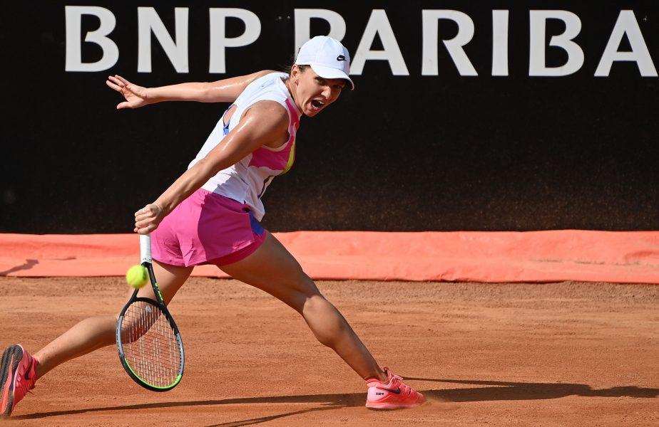 """""""Îmi doresc foarte mult acest trofeu!"""" Simona Halep, foarte încrezătoare după calificarea în semifinalele turneului de la Roma"""