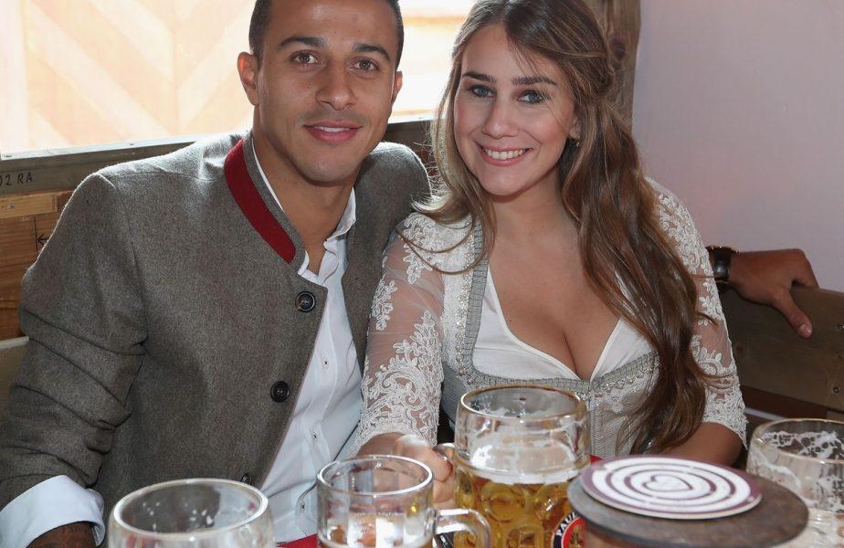 """Superba soție lui Thiago Alcantara, mesaj emoționant după transferul la Liverpool. """"Sunt foarte mândră de tine!"""""""