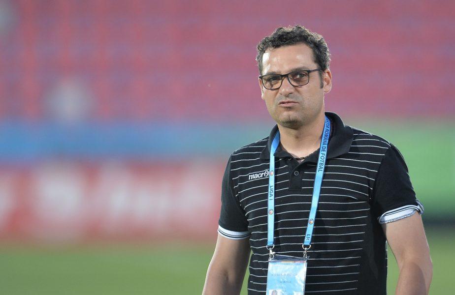 """""""Probabil nu a vrut să mai dăm vreun gol în ultimul minut!"""" Mihai Teja a răbufnit la adresa arbitrajului după înfrângerea cu Craiova. Ce a spus despre echipa sa"""
