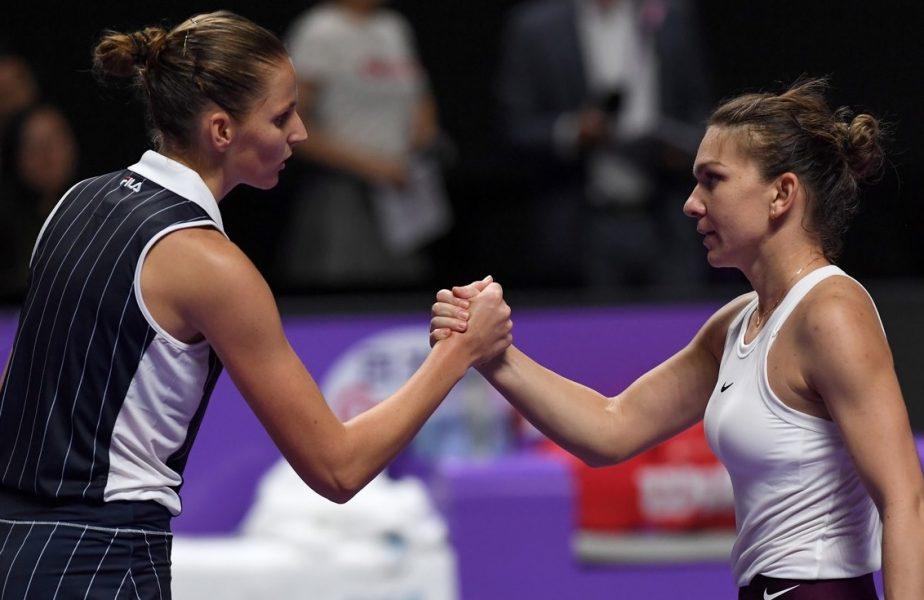 "Simona Halep – Karolina Pliskova, finală ""de Grand Slam"", la Roma! Când se va juca meciul"