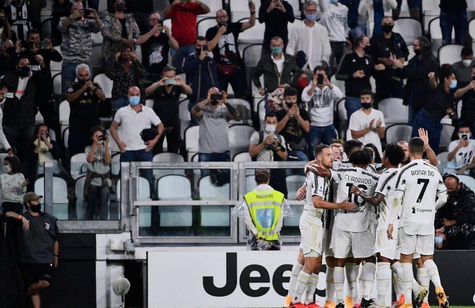 """Juventus – Sampdoria 3-0. Andrea Pirlo a debutat cu dreptul pe banca tehnică a """"bianconerilor"""". Gol pentru Cristiano Ronaldo"""