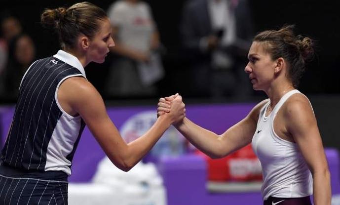 """Simona Halep – Karolina Pliskova 6-0, 2-1. """"Simo"""" e noua regină a Romei! A câştigat pentru prima dată în carieră turneul. Jucătoarea din Cehia s-a retras"""