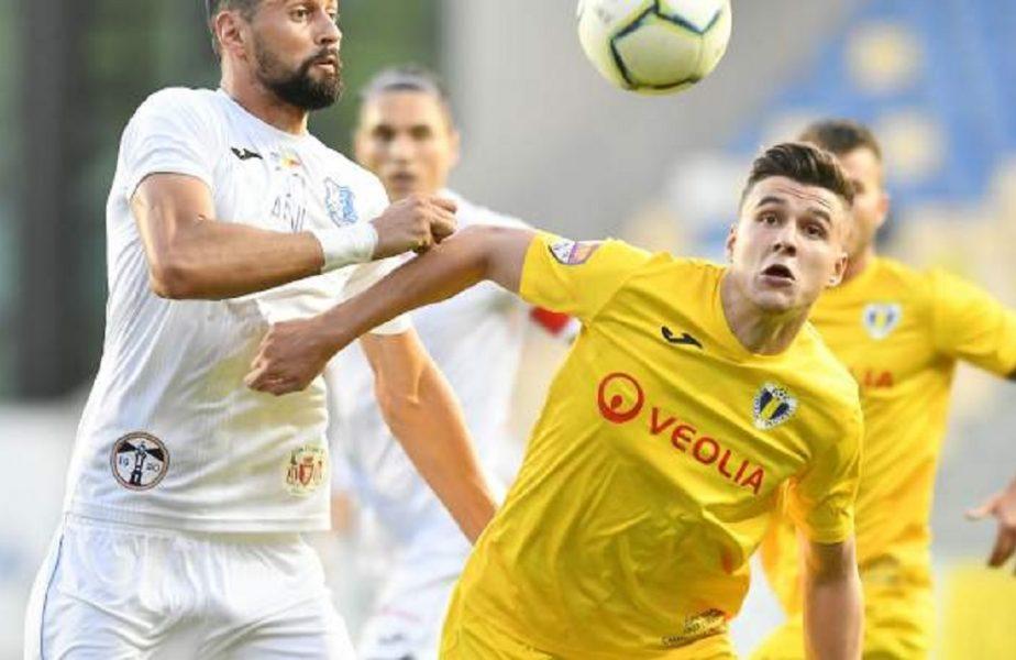 """Csikszereda – Petrolul 1-2. """"Lupii galbeni"""", salvaţi de golurile lui Vajushi. Două eliminări în decurs de nici două minute!"""
