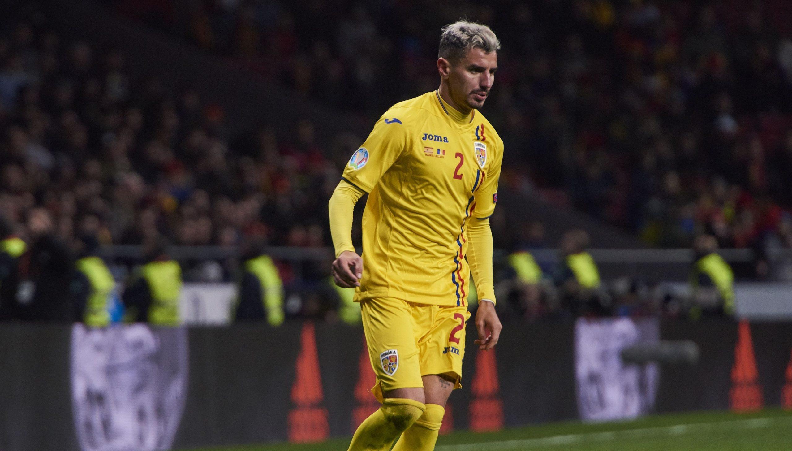Romario Benzar, în tricoul echipei naţionale