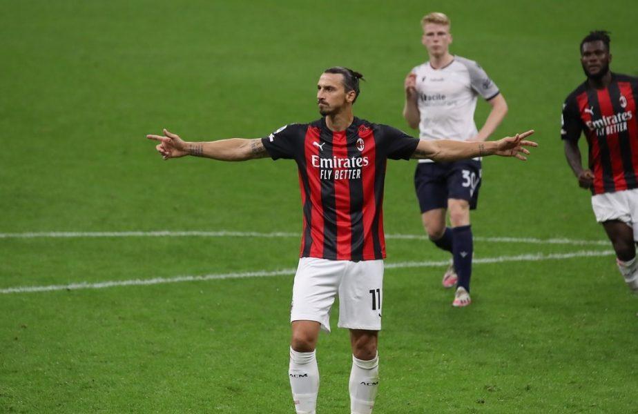 """Zlatan Ibrahimovic, """"Diavol"""" în faţa porţii! """"Sunt ca Benjamin Button"""""""