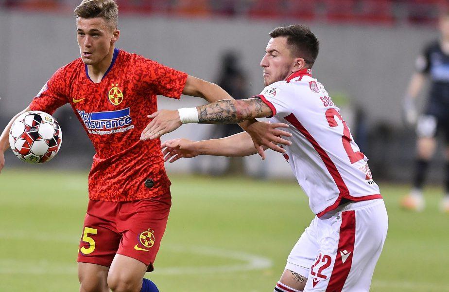 """Dinamo nu i-a dat doar portar FCSB-ului, ci şi căpitan! Cine este Ovidiu Perianu, liderul """"roș-albaștrilor"""" din meciul cu Slovan Liberec"""