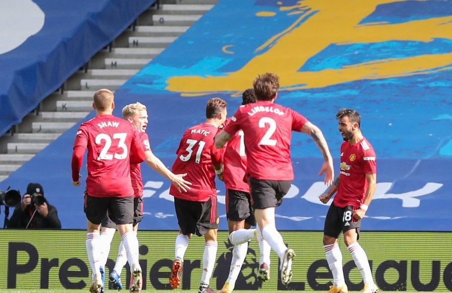 Dramă totală în Premier League! Manchester United a câștigat după ce a fost egalată în minutul 90+5. Ce s-a întâmplat pe final