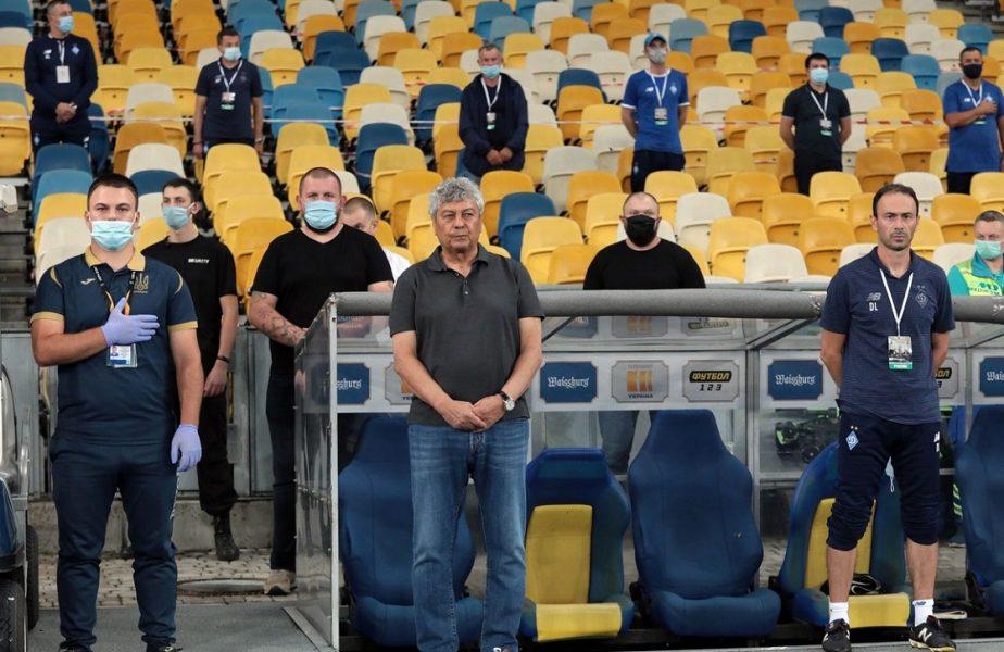 Dinamo Kiev a dat recital în campionatul Ucrainei. Reacţia lui Mircea Lucescu şi motivul pentru care a fost consultat de medicul echipei!