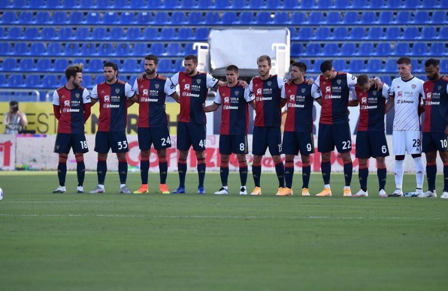 Duel românesc în Serie A. Răzvan Marin, învins de Radu Ştefan! Lazio a câştigat la Cagliari