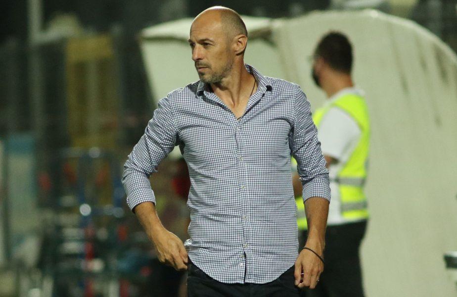Bogdan Andone și-a atacat jucătorii după umilința cu Viitorul. Nici arbitrii nu au scăpat de tirul antrenorului Astrei